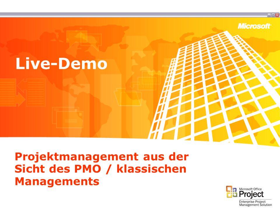 Projektmanagement aus der Sicht des PMO / klassischen Managements