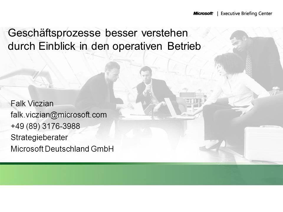 Geschäftsprozesse besser verstehen durch Einblick in den operativen Betrieb