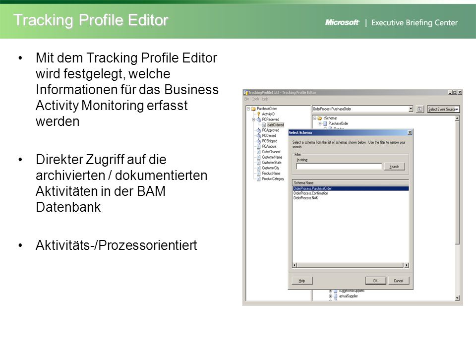 Tracking Profile Editor