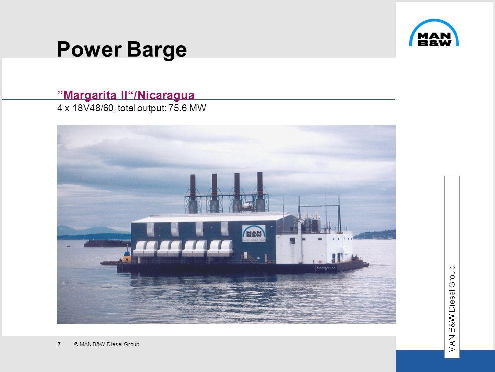 Power Barge Margarita II /Nicaragua