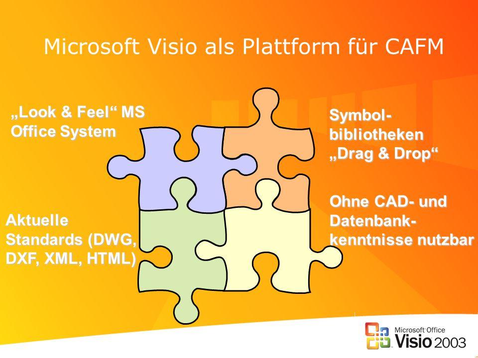 Microsoft Visio als Plattform für CAFM
