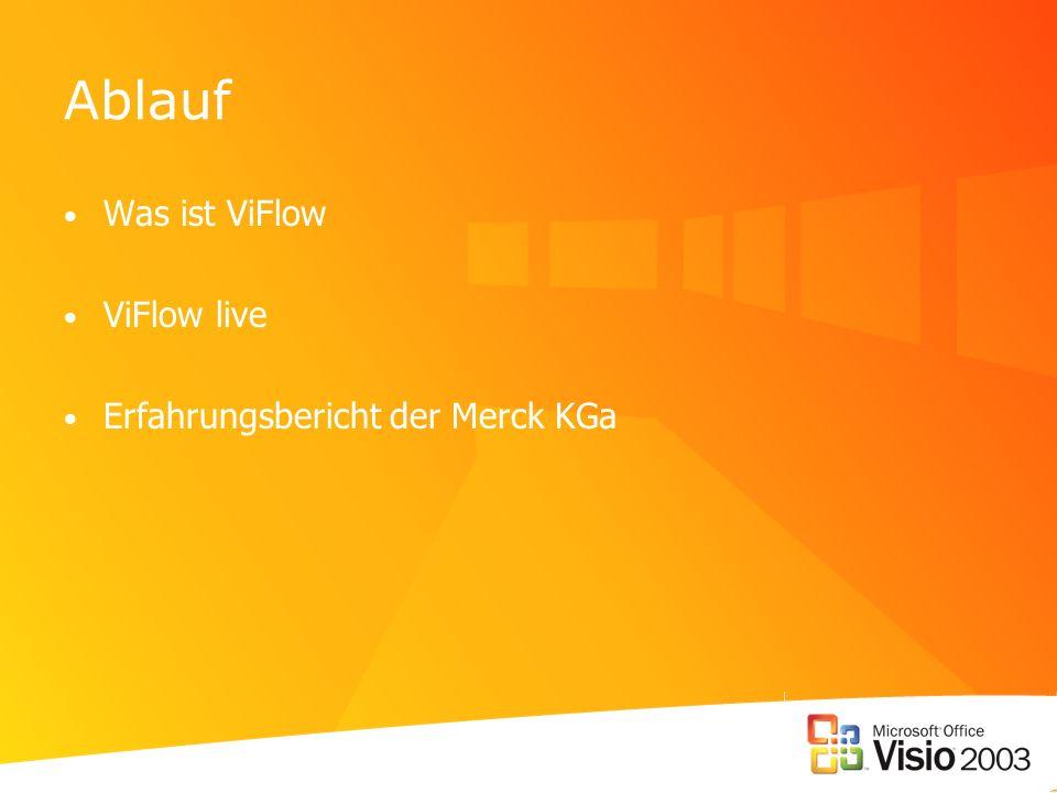 Ablauf Was ist ViFlow ViFlow live Erfahrungsbericht der Merck KGa