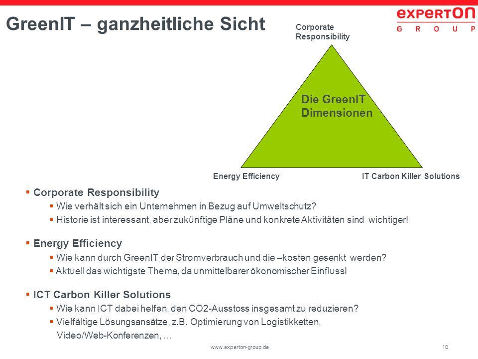 GreenIT – ganzheitliche Sicht
