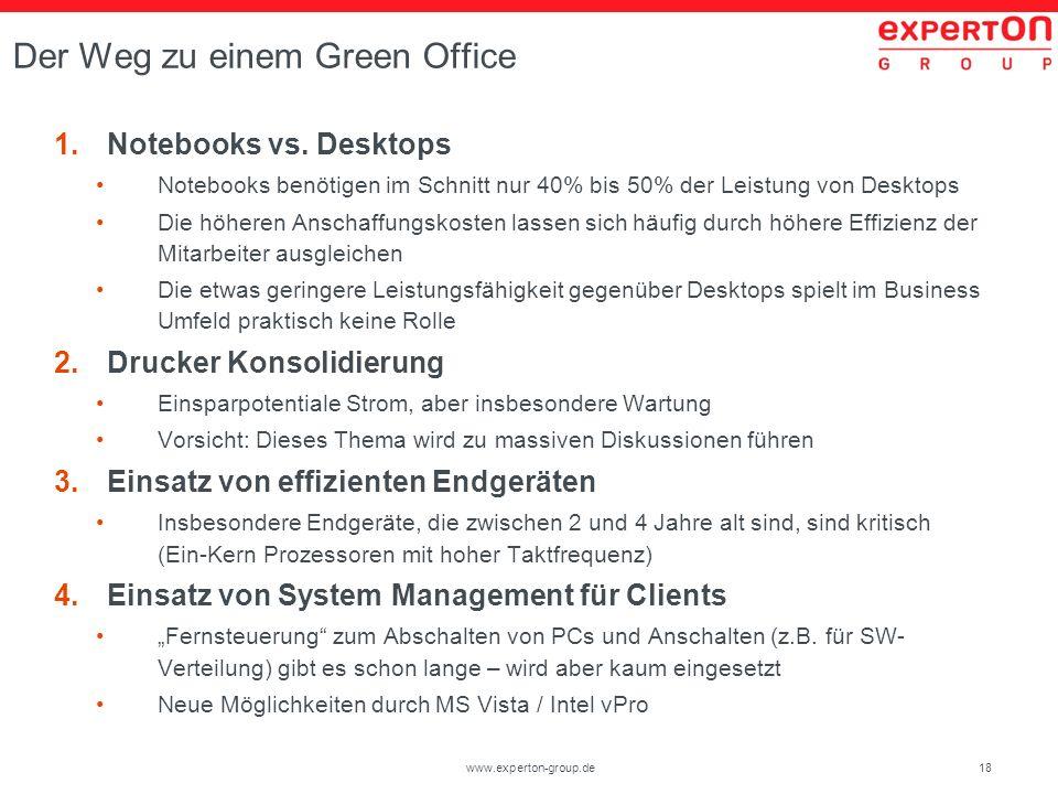 Der Weg zu einem Green Office