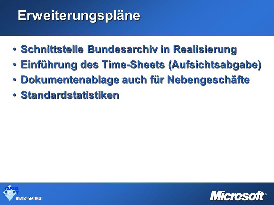 Erweiterungspläne Schnittstelle Bundesarchiv in Realisierung