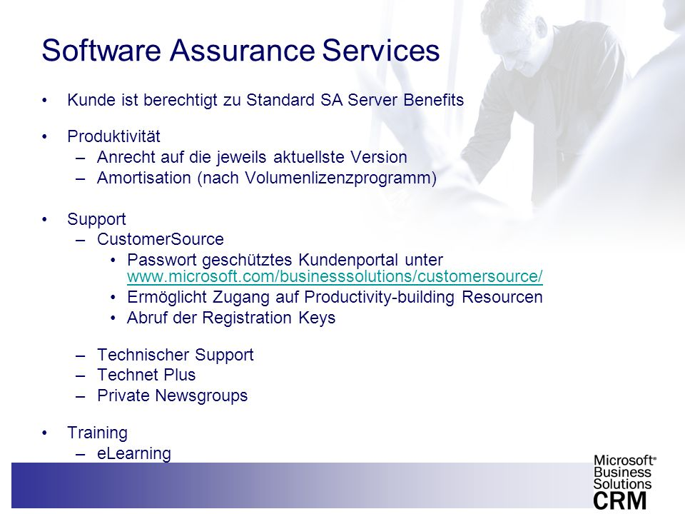 Software Assurance Services