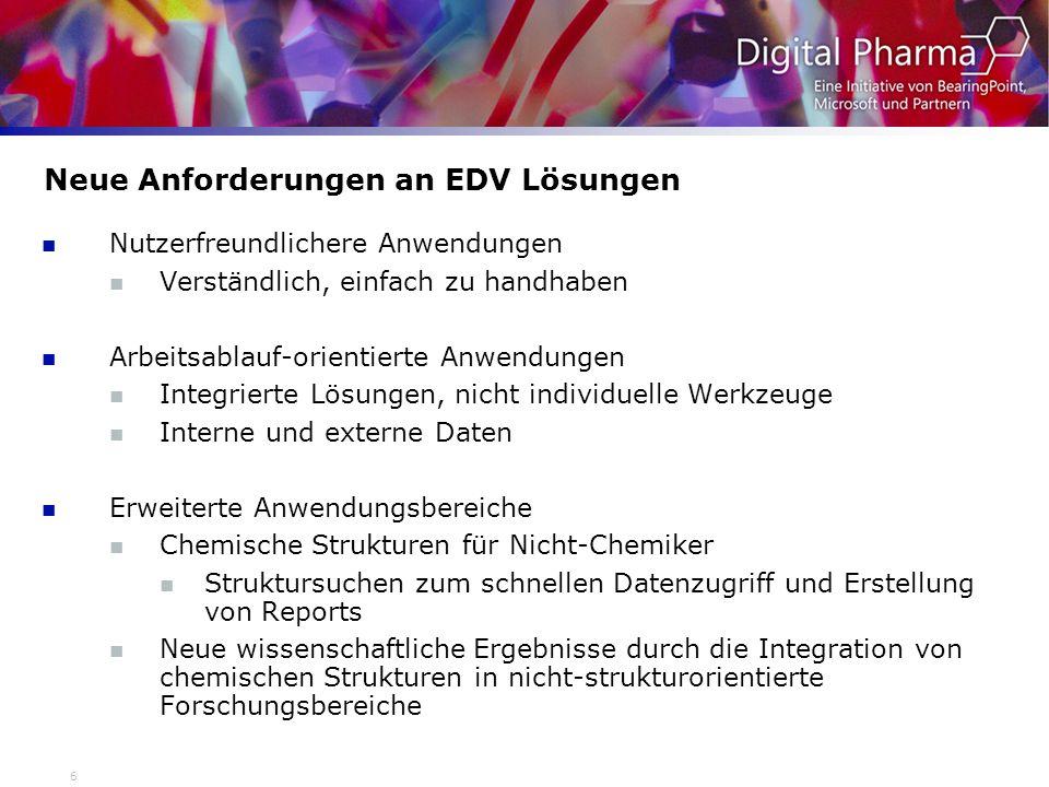 Neue Anforderungen an EDV Lösungen