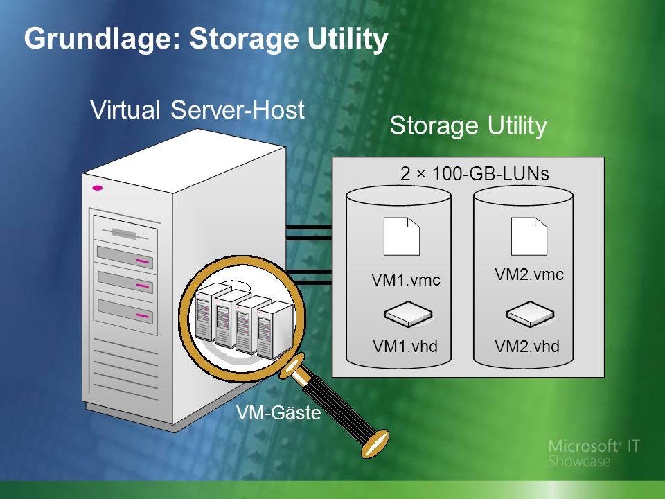 Grundlage: Storage Utility