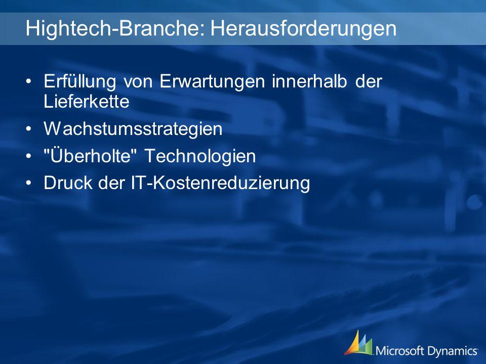 Hightech-Branche: Herausforderungen