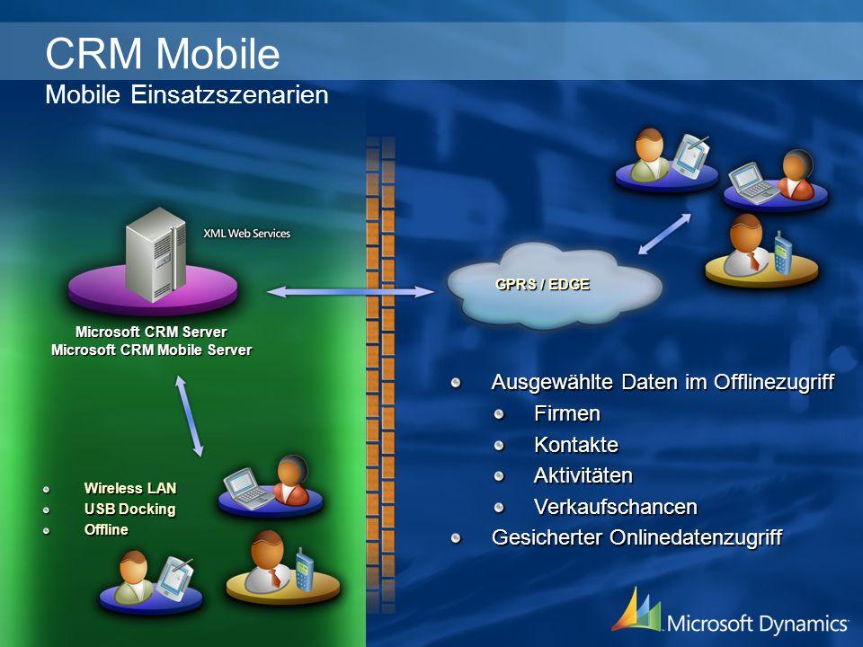 Microsoft CRM Mobile Server