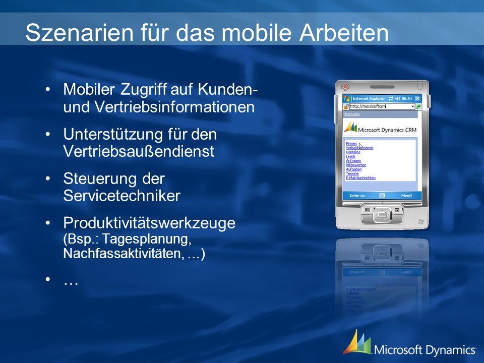 Szenarien für das mobile Arbeiten