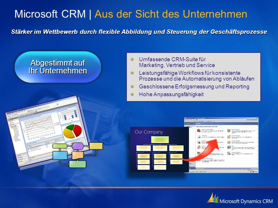 Microsoft CRM | Aus der Sicht des Unternehmen
