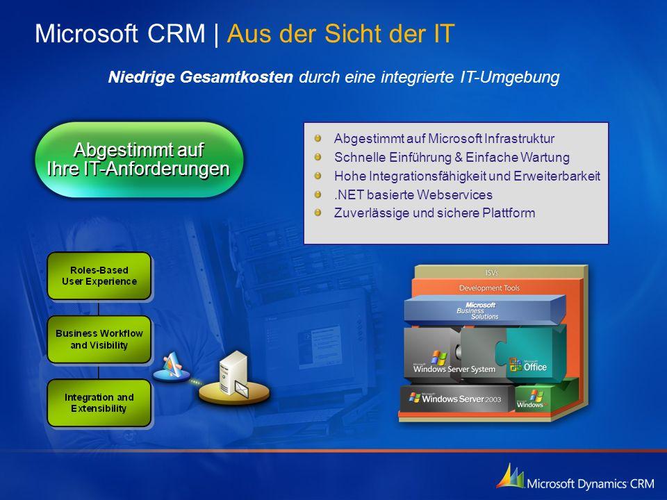 Microsoft CRM | Aus der Sicht der IT