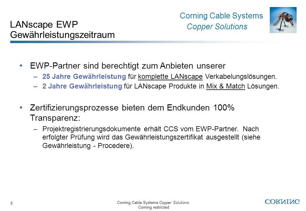 LANscape EWP Gewährleistungszeitraum