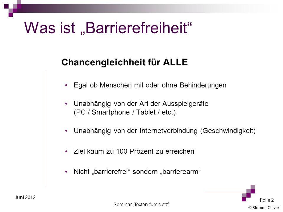 """Was ist """"Barrierefreiheit"""