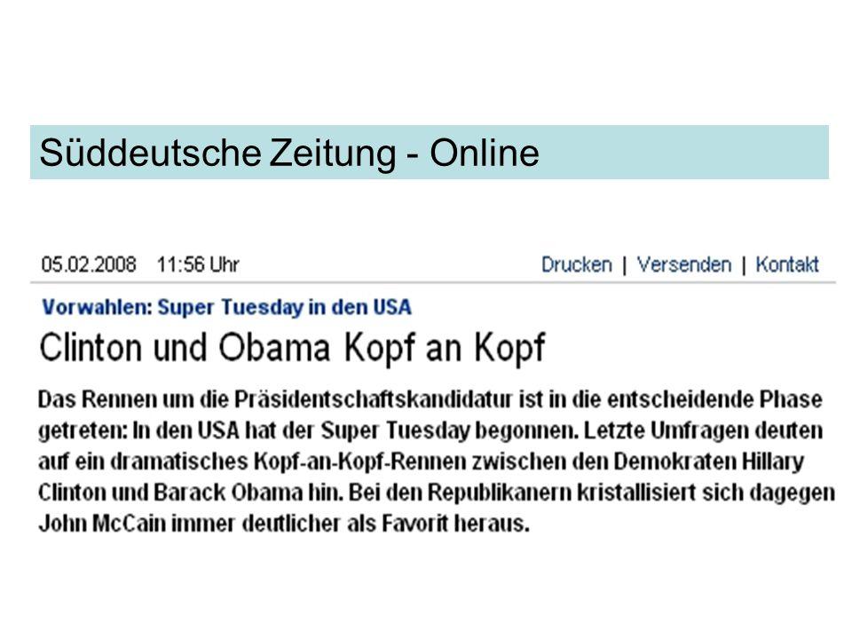 Süddeutsche Zeitung - Online