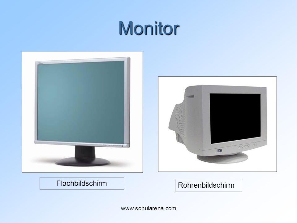 Monitor Flachbildschirm Röhrenbildschirm www.schularena.com