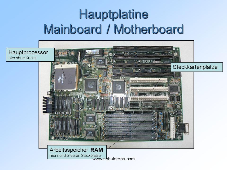Hauptplatine Mainboard / Motherboard