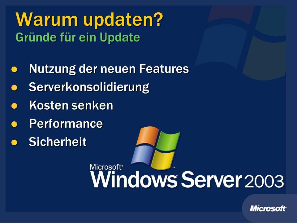 Warum updaten Gründe für ein Update