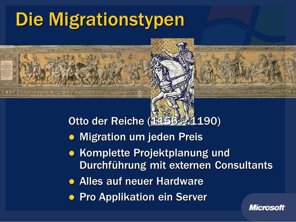 Die Migrationstypen Otto der Reiche (1156 – 1190)