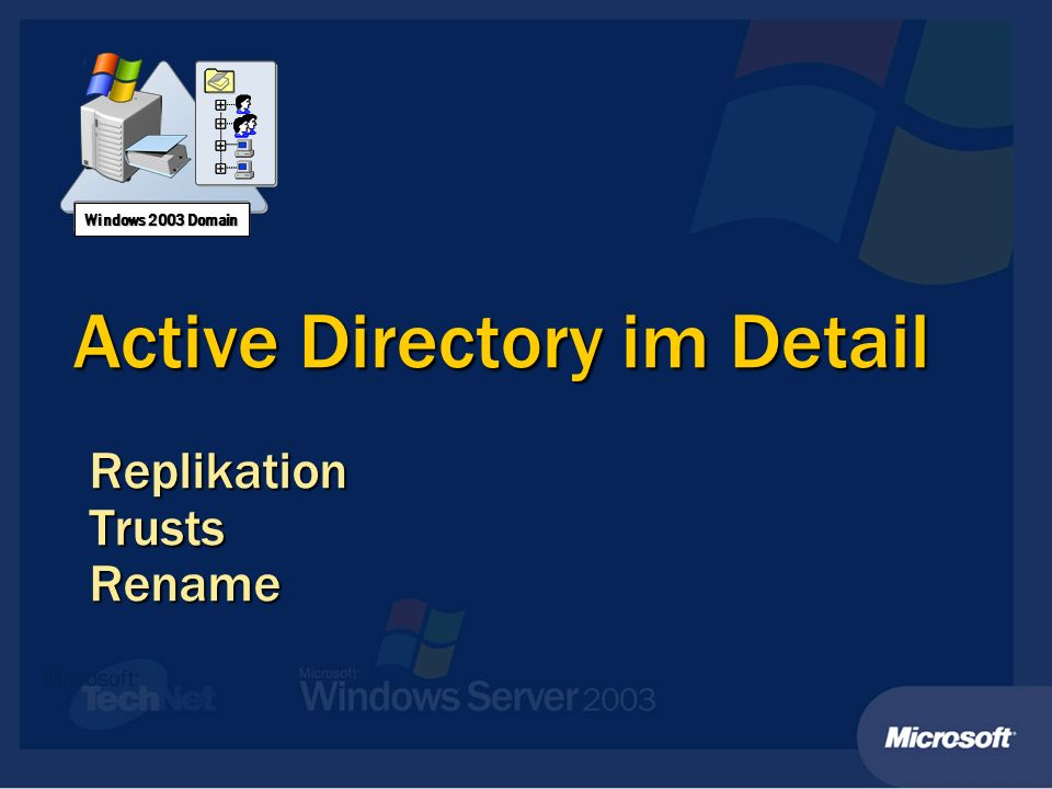 Active Directory im Detail