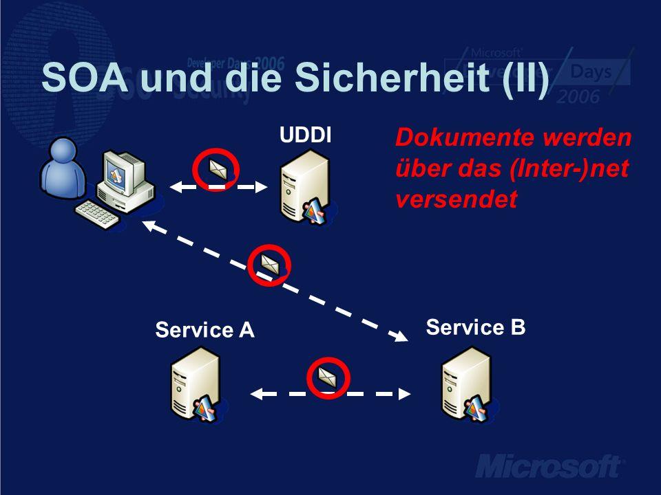 SOA und die Sicherheit (II)