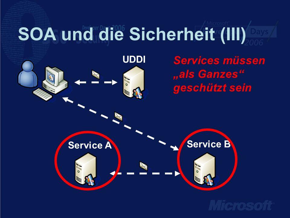 SOA und die Sicherheit (III)