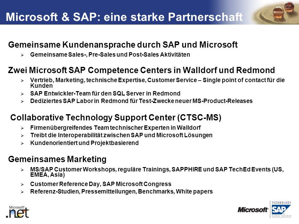Microsoft & SAP: eine starke Partnerschaft