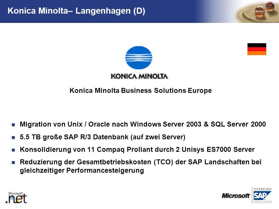 Konica Minolta– Langenhagen (D)