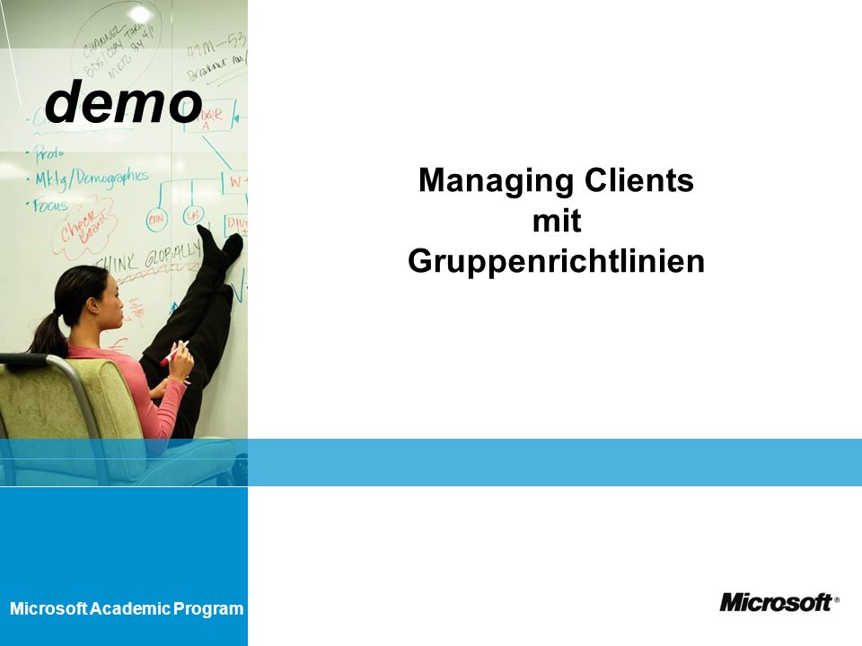 Managing Clients mit Gruppenrichtlinien