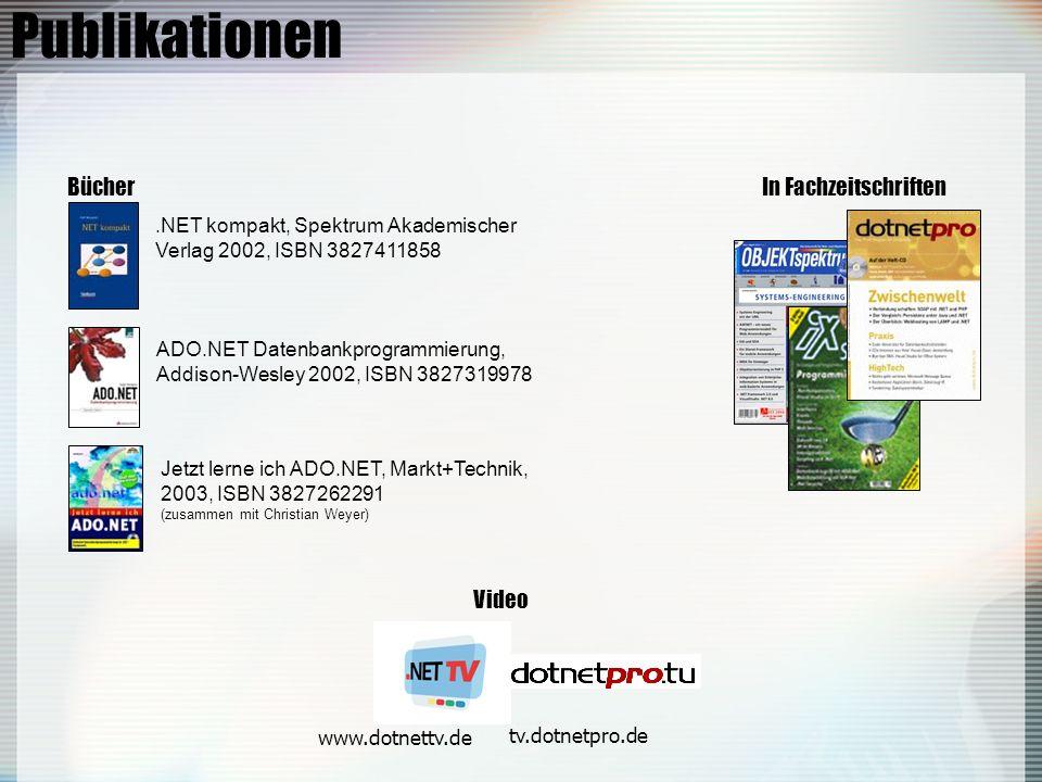 Publikationen Bücher In Fachzeitschriften Video