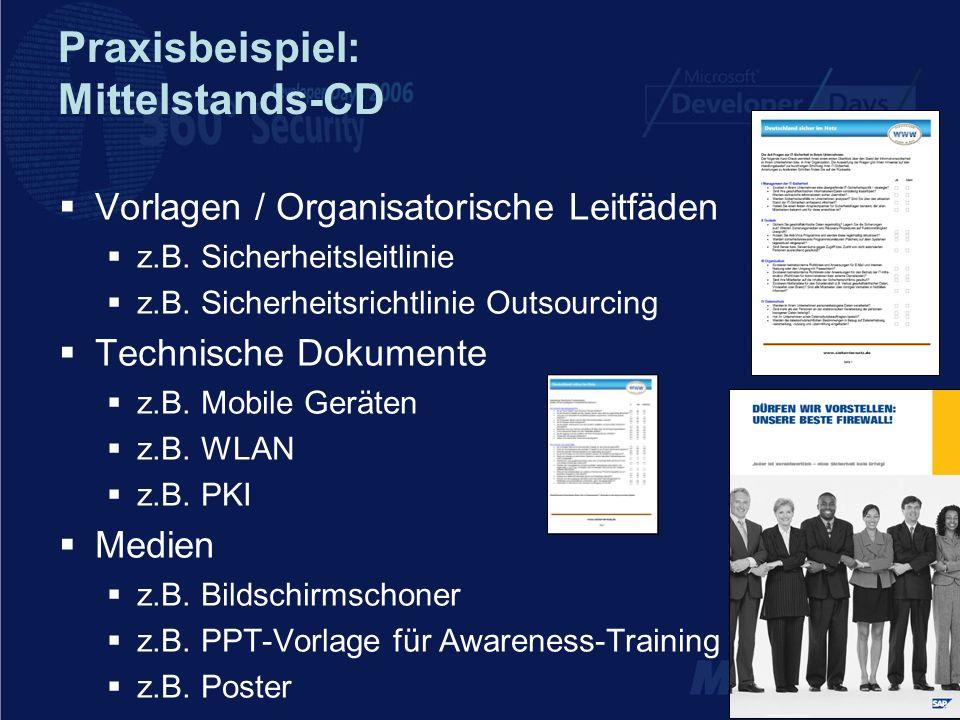 Praxisbeispiel: Mittelstands-CD