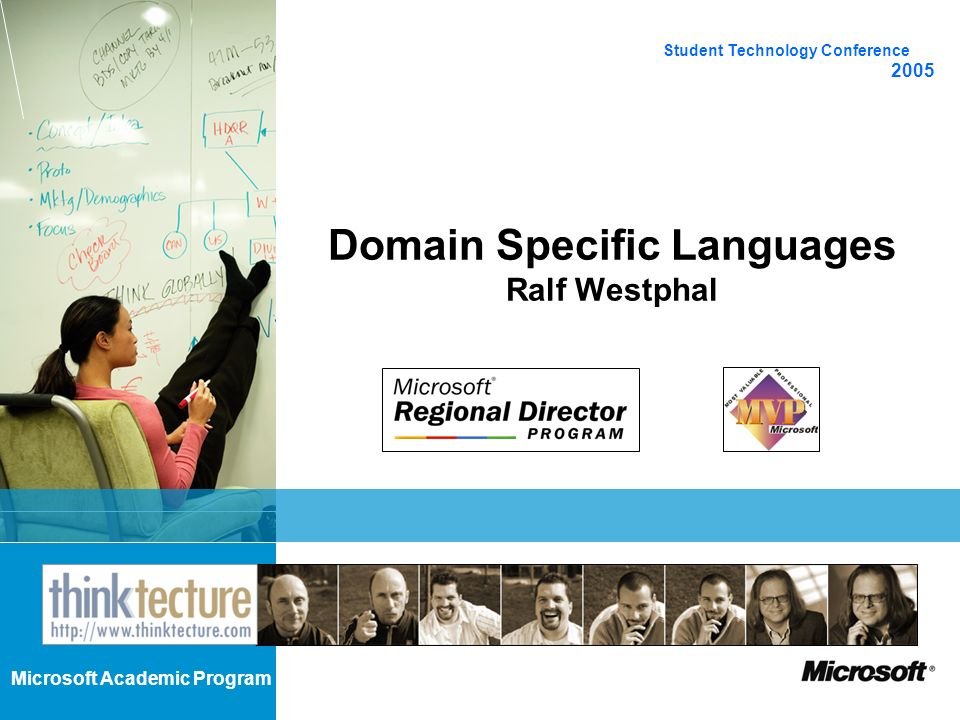 Domain Specific Languages Ralf Westphal