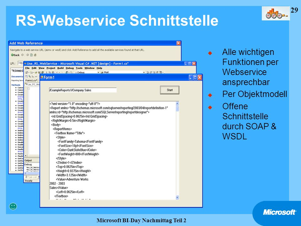 RS-Webservice Schnittstelle