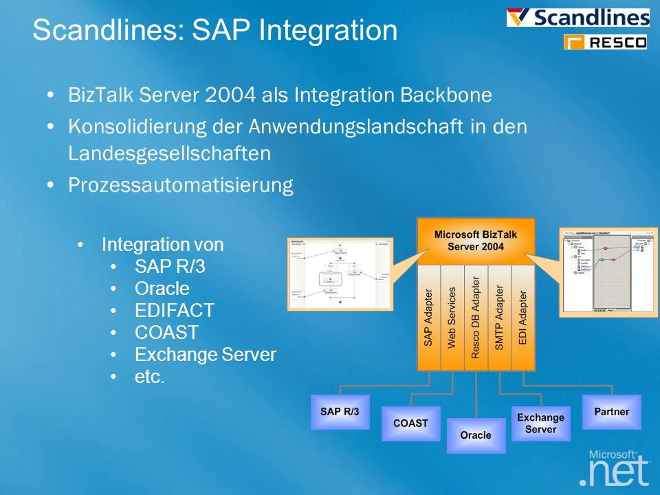 Scandlines: SAP Integration