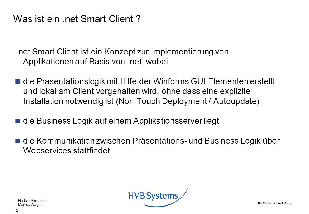 Was ist ein .net Smart Client