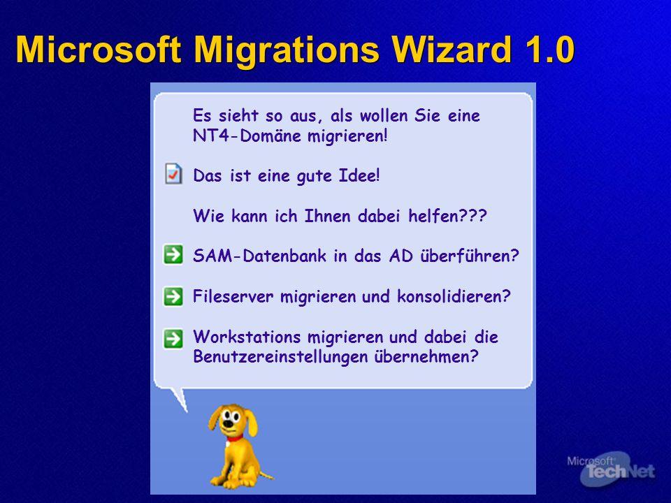 Microsoft Migrations Wizard 1.0