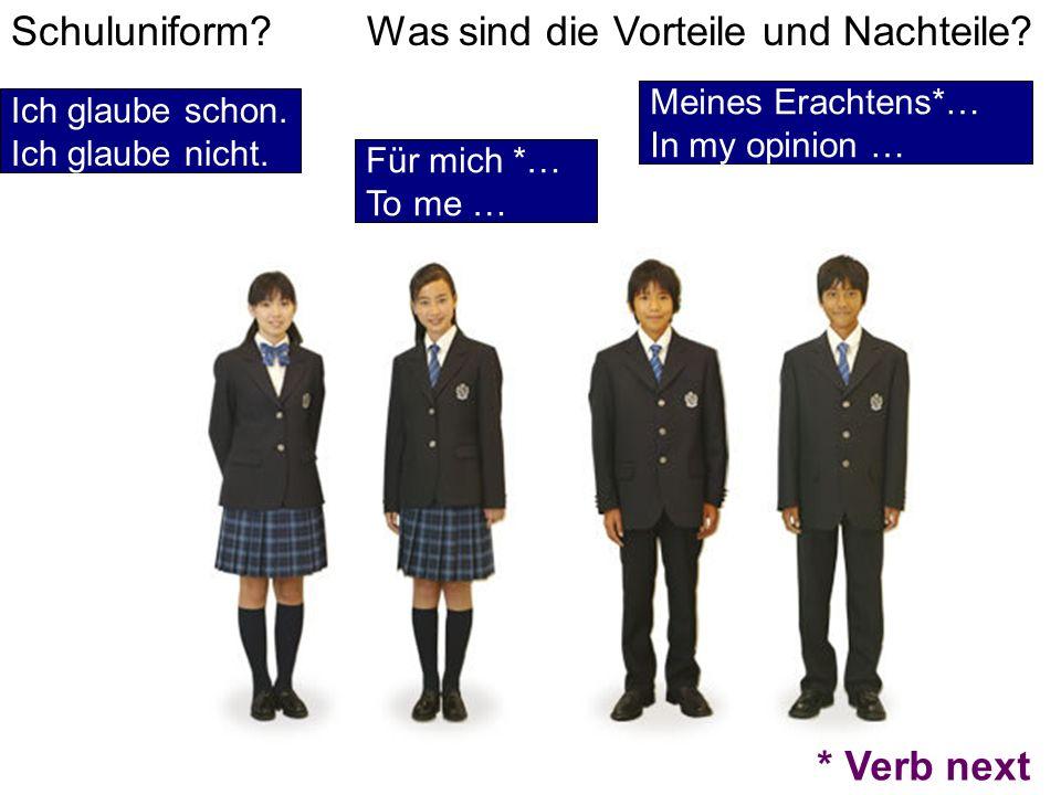 Schuluniform Was sind die Vorteile und Nachteile