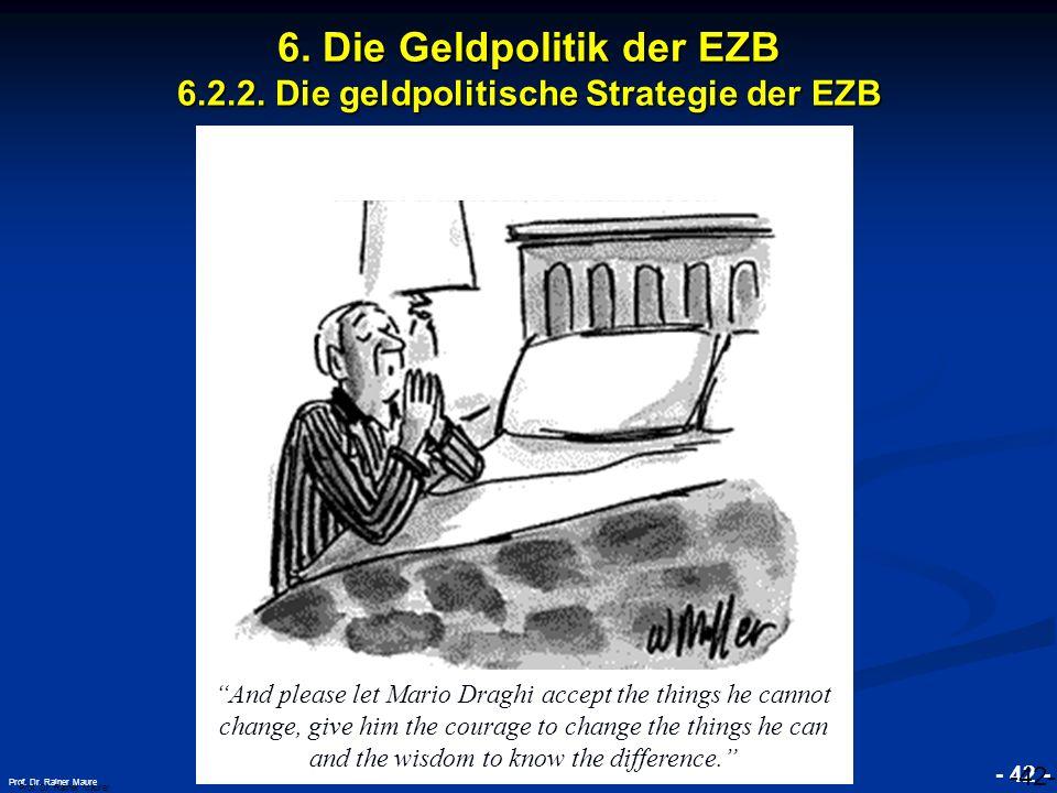 6. Die Geldpolitik der EZB 6.2.2. Die geldpolitische Strategie der EZB