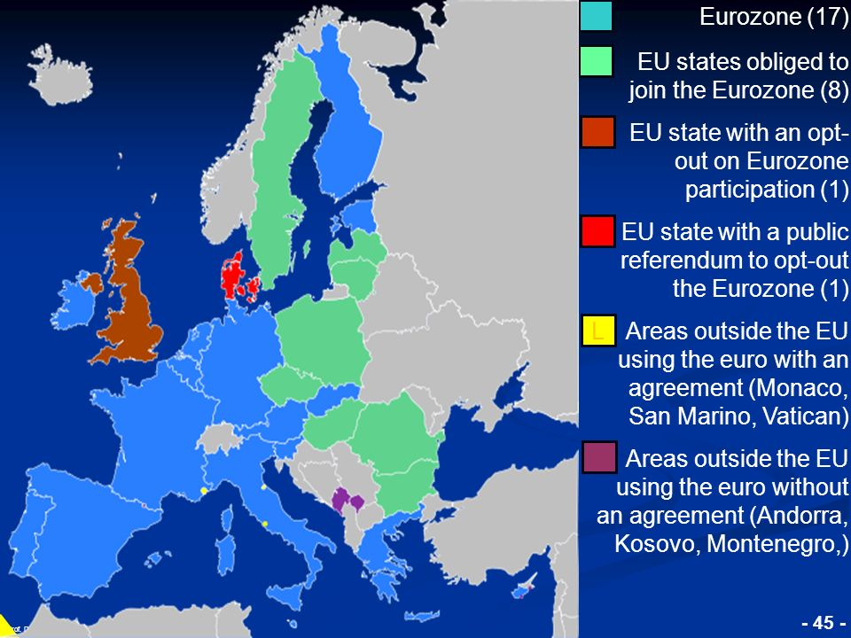EU states obliged to join the Eurozone (8)