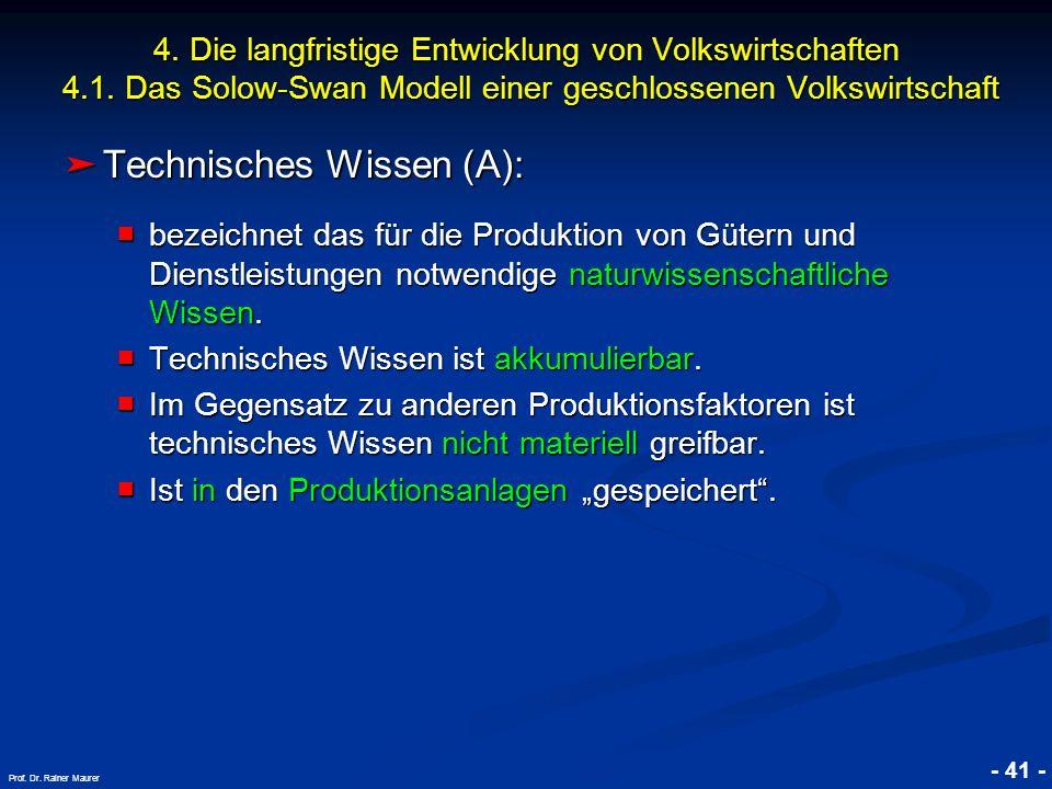 Technisches Wissen (A):