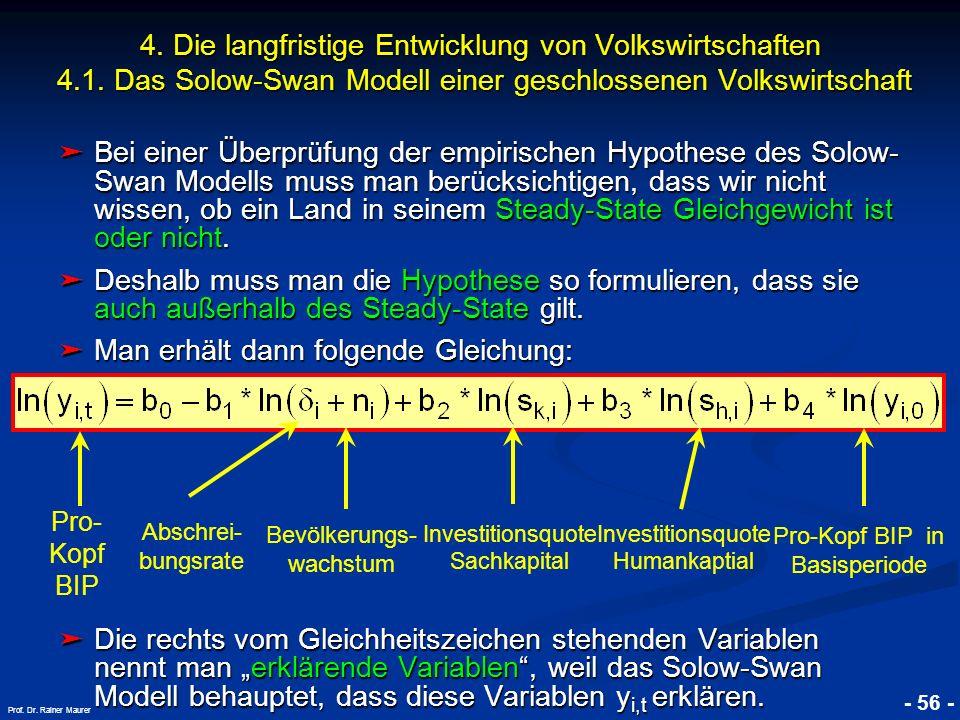 Man erhält dann folgende Gleichung: