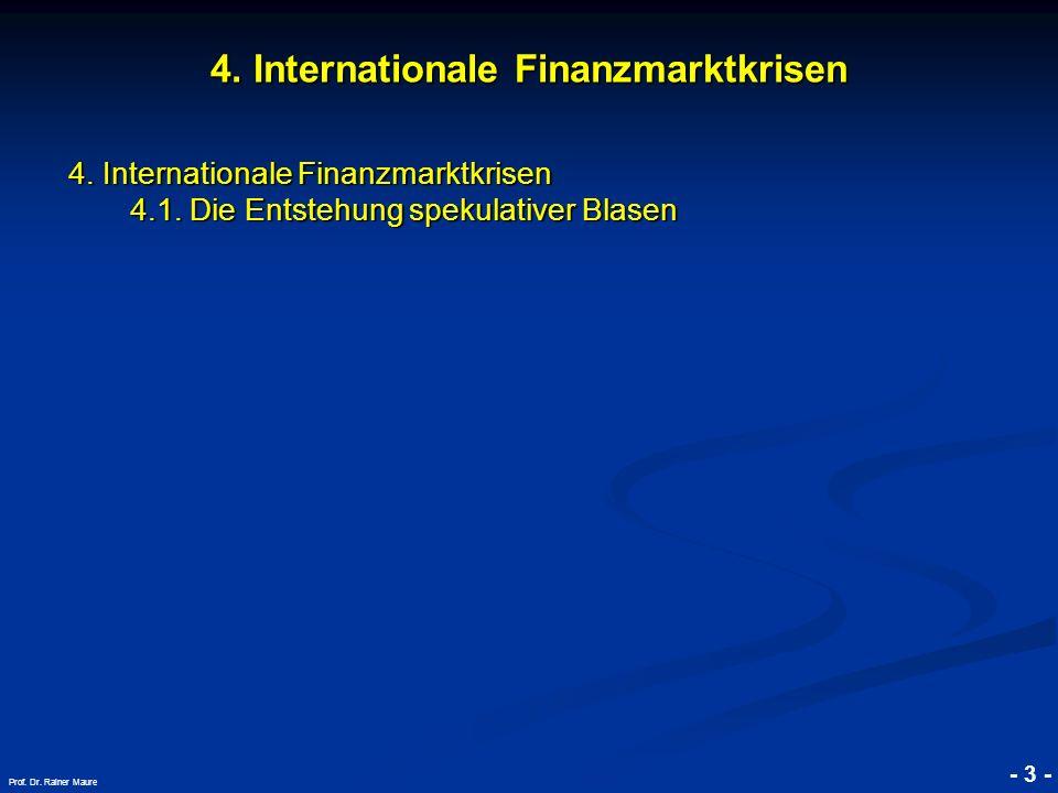 4. Internationale Finanzmarktkrisen