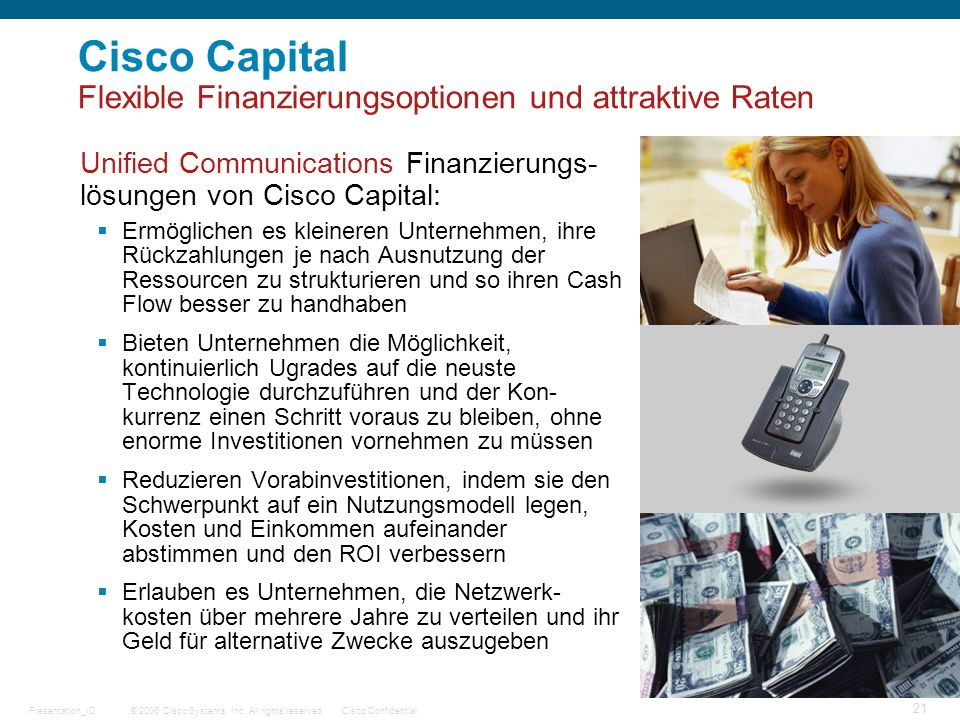 Cisco Capital Flexible Finanzierungsoptionen und attraktive Raten
