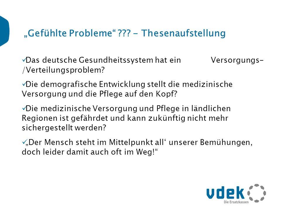 """""""Gefühlte Probleme - Thesenaufstellung"""