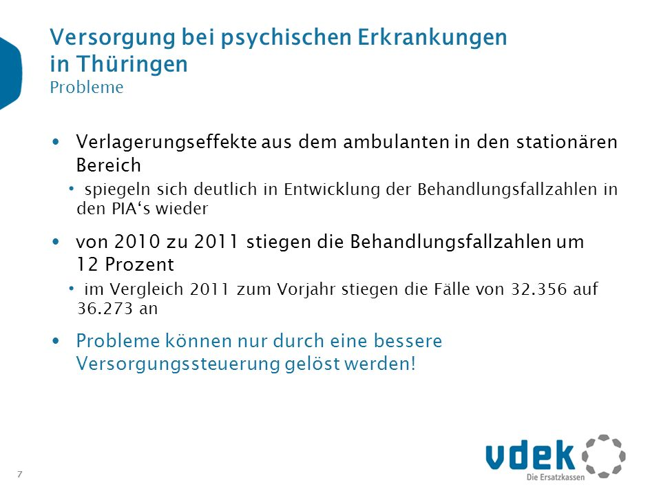 Versorgung bei psychischen Erkrankungen in Thüringen Probleme