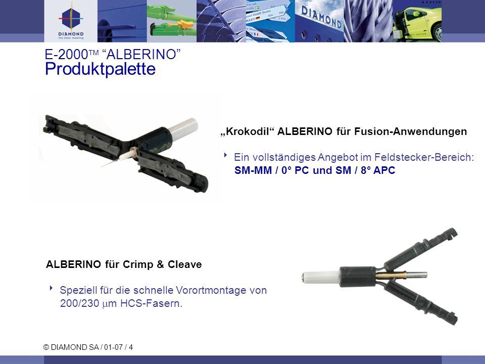 E-2000 ALBERINO Produktpalette