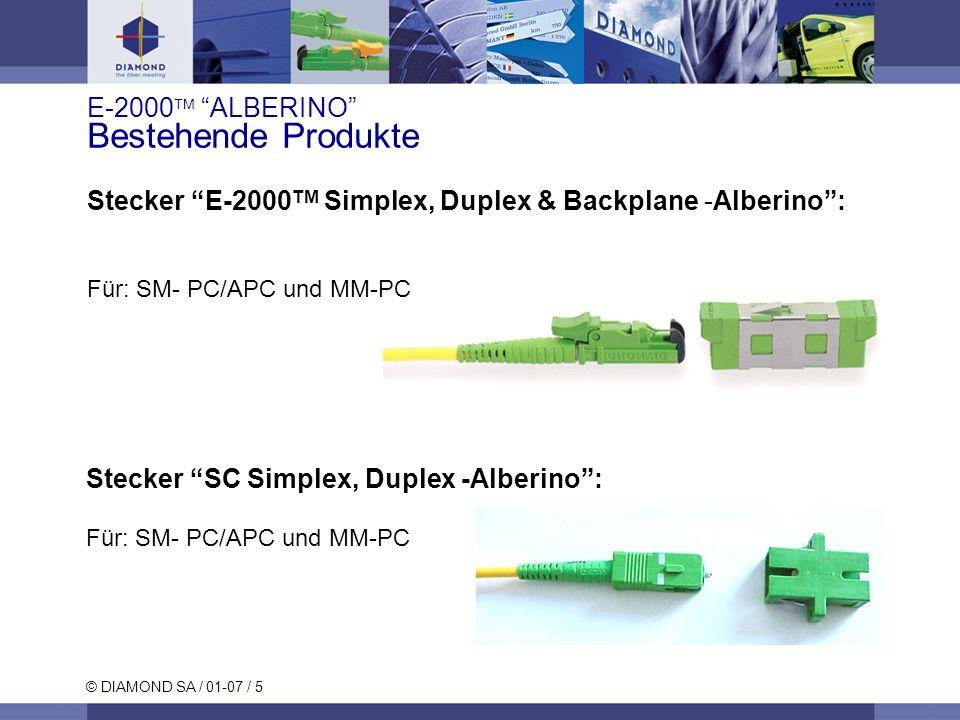 E-2000 ALBERINO Bestehende Produkte