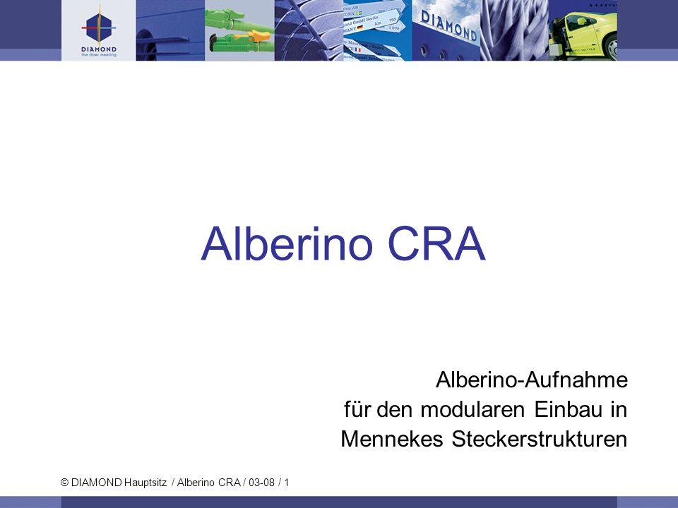 Alberino CRA Alberino-Aufnahme für den modularen Einbau in