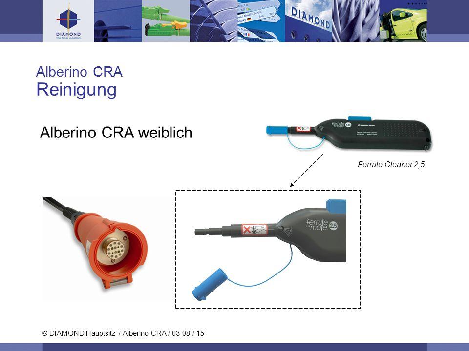 Reinigung Alberino CRA weiblich Alberino CRA Ferrule Cleaner 2,5